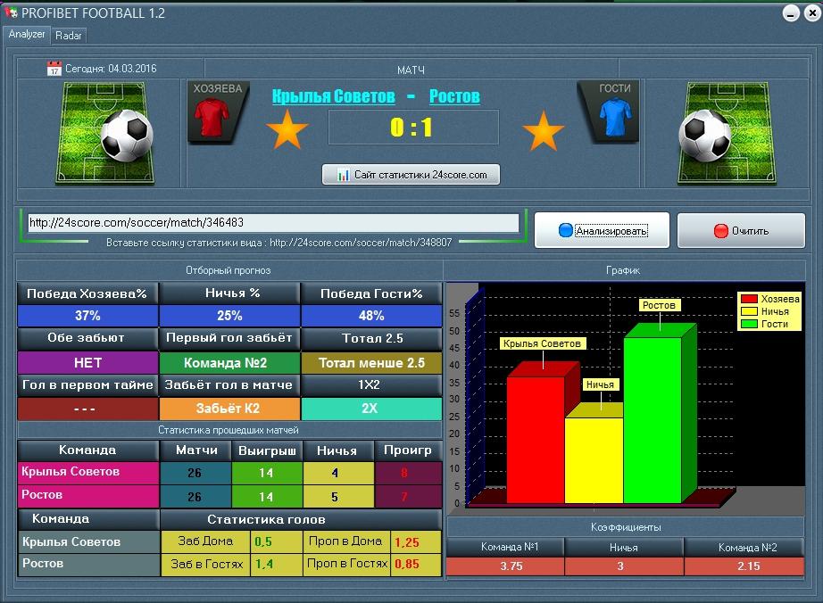 PROFIBET FOOTBALL 1.2