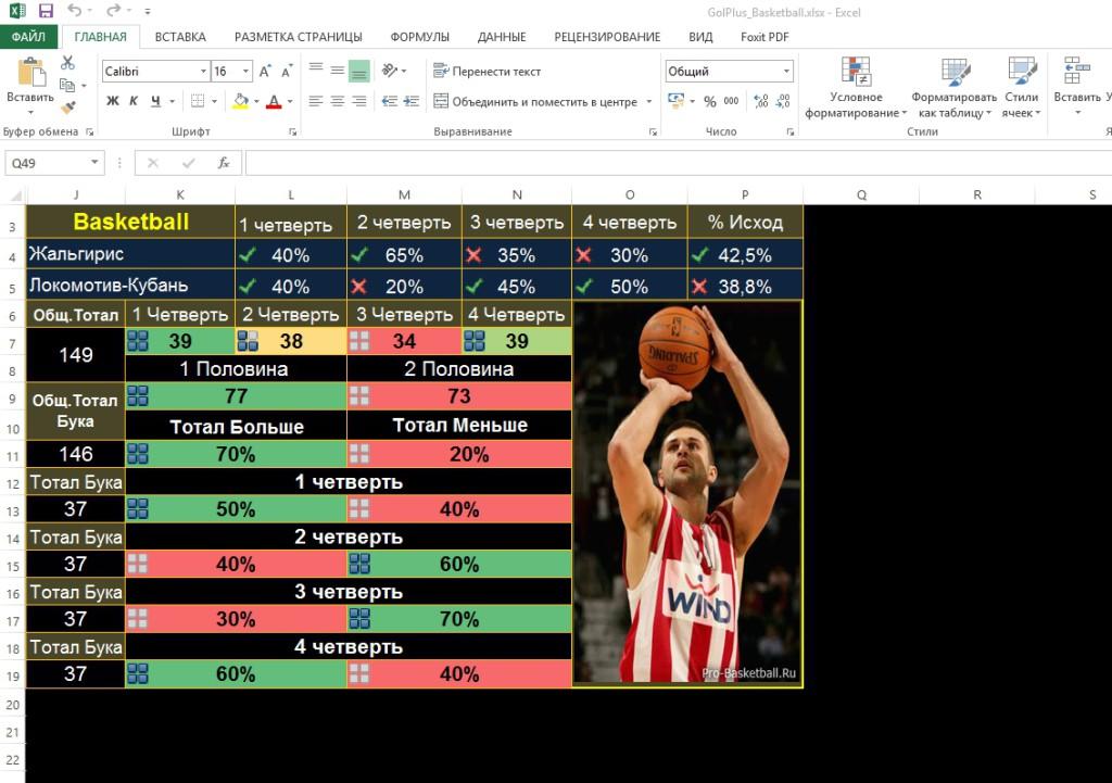 GolPlus_Basketball.xlsx - Excel